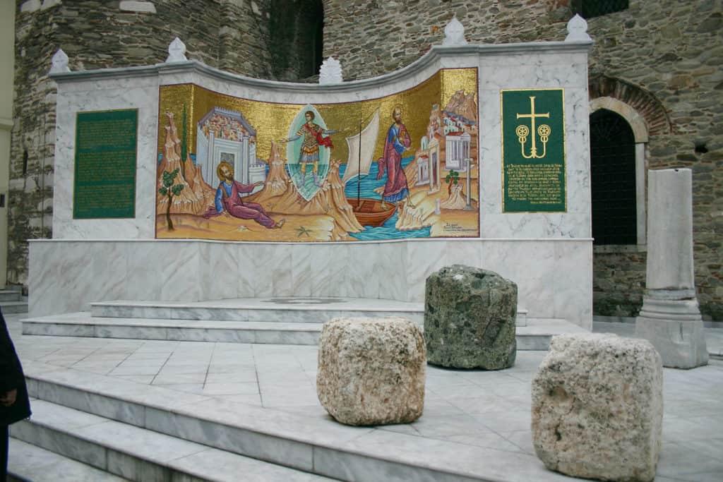Μνημείο καβάλα Άγιος Νικόλαος