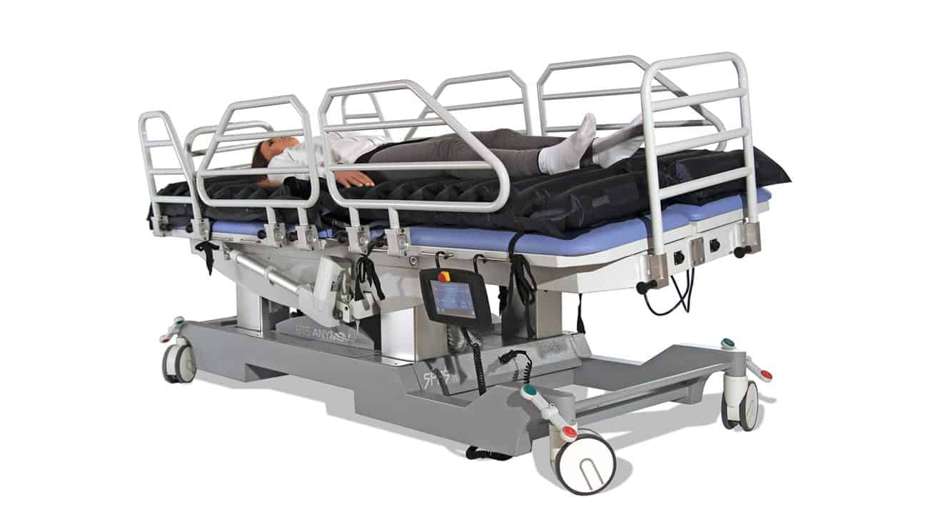anymov robotic hospital bed