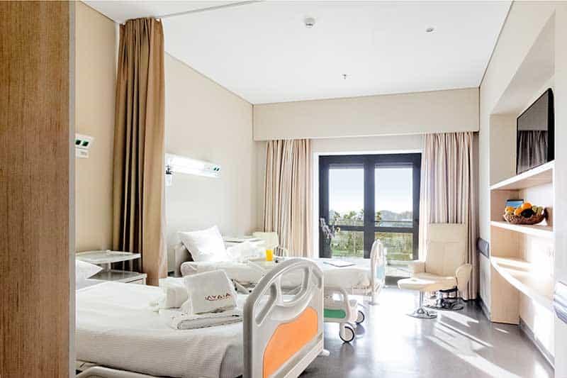 δωμάτια euromedica κλινική αποκατάστασης